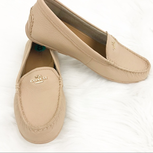 cb8d1f2afc0 Coach Mary Lock Up Flat Shoes loafers size 8